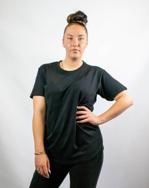 shirt zwart bedrukken fer multimedia